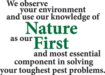 Nature First Pest Control